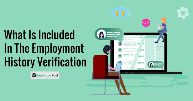 What Is Included in the Employment History Verification